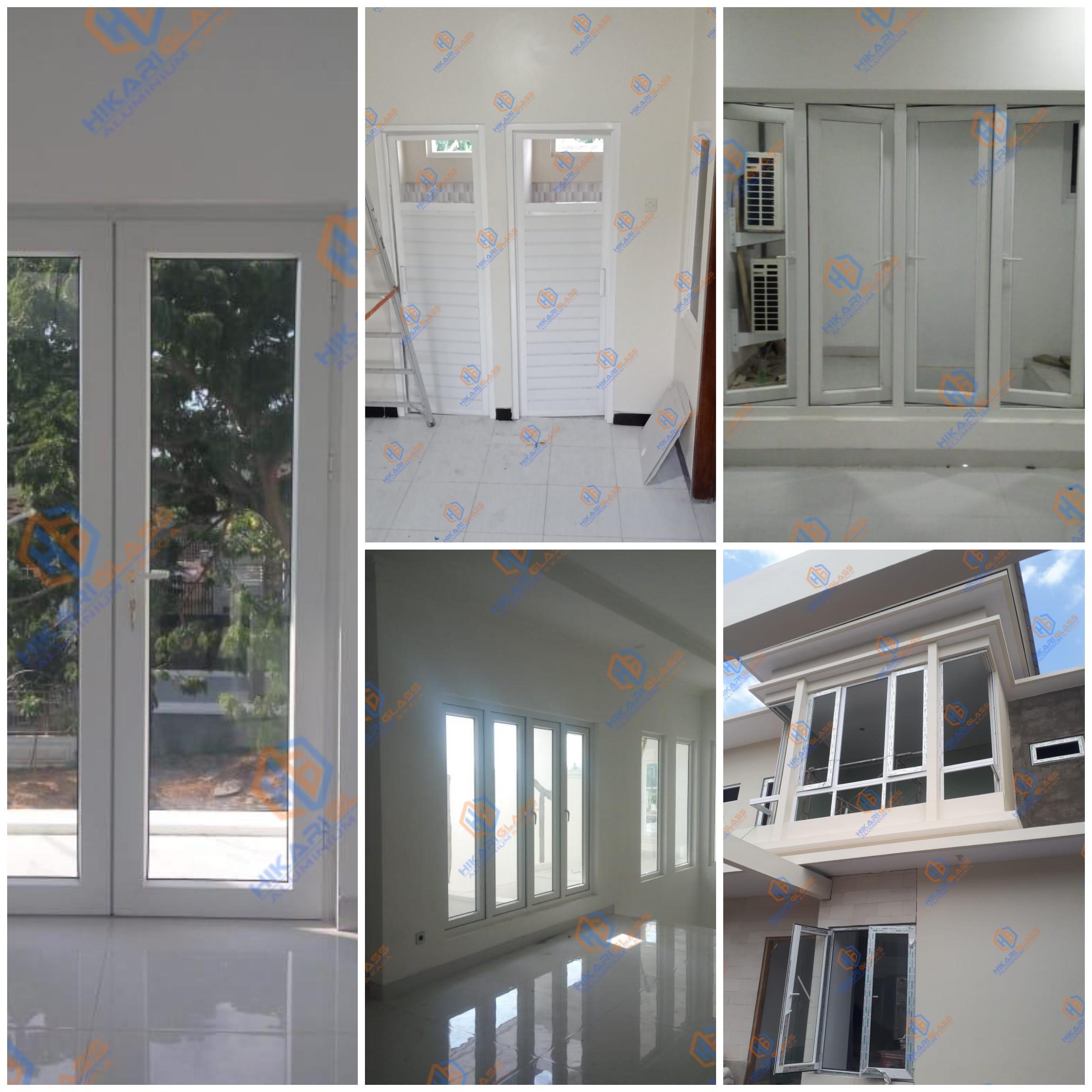 Jendela dan pintu aluminium kaca